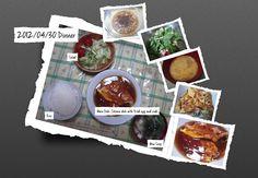For Dinner on 30 April 2012