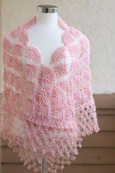 Pink Shawl Bridal Shrug Bridal shawl Bridal by MODAcrochet on Etsy - Bridal Bolero, Bridal Cape, Knitting Designs, Knitting Patterns, Crochet Patterns, Bridesmaid Shawl, Pink Shawl, Evening Shawls, Wedding Shawl