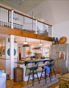 Casa Rustica de Costa Americana / American Rustic Beachfront Style House Beach cottage style House with balcony Home