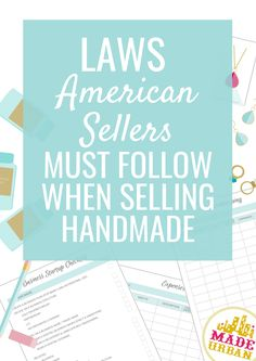 How to sell handmade greeting cards business creative and craft if you live in the us these are the laws you must follow and the m4hsunfo