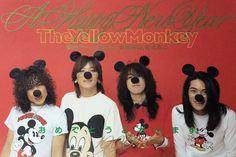 Monkey, Mickey Mouse, Yellow, Annie, Rocks, Music, Sexy, Musica, Monkeys