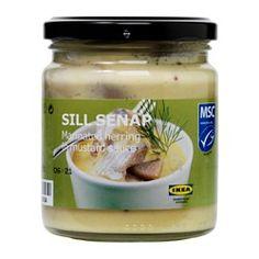IKEA SILL SENAP marinated herring with mustard sauce £1.15