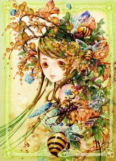Anime Bee Girl...