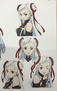 SAO Original Scale EXCLUSIVE : Yuna's face expressions