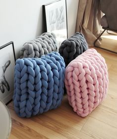 Square Braid Cushion DIY Instructions | Ohhio