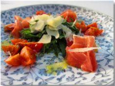 Arugula with prosciutto