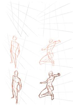 Perspective on figure drawing