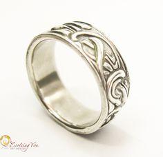 Men's Patterned Ring