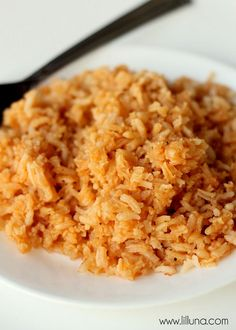 Restaurant Style Spanish Rice. The best and easiest recipe! The perfect Mexican side dish!