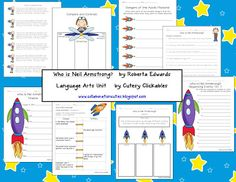 Who was Neil Armstrong Literature Unit and a Nonfiction Summarizing Freebie!