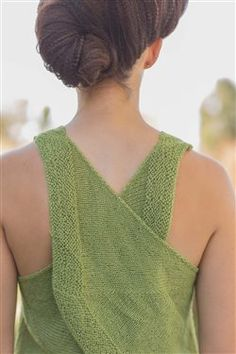 Designer Spotlight: Green Apple Tank by Amy Palmer – Knitting and Crochet techniques from the Berroco Design Team Ravelry, Amy, Big Knits, Summer Knitting, Knitting Daily, Knitting Accessories, Knit Fashion, Knitting Needles, Pulls