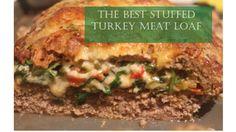 The Best Stuffed Turkey Meat Loaf