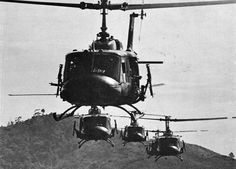 UH-1 Huey helicopters