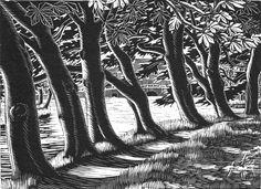 Gwen Raverat, Horse chestnuts at Grantchester, 1937