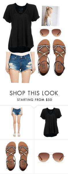 """""""Casual Friday 2"""" by kalenastewart on Polyvore featuring rag & bone/JEAN, Free People, Billabong and Stella & Dot"""