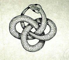 Ouroboros infinity snake