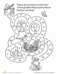 Mouse Counting Maze