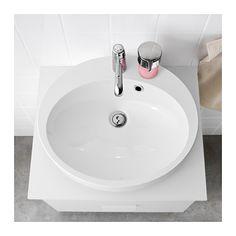 BETINGEN Lavabo A Poser Blanc Vasque Ikea Lave Linge