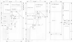 Woodworking cabinet plans arcade PDF Free Download - Arcade cabinet design