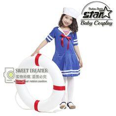 $22.00 (Buy here: https://alitems.com/g/1e8d114494ebda23ff8b16525dc3e8/?i=5&ulp=https%3A%2F%2Fwww.aliexpress.com%2Fitem%2FFantasia-Children-s-Halloween-Dress-Girls-Sailor-and-Navy-Costume-Military-School-Performance-Stage-Game-Uniforms%2F32714353820.html ) Fantasia Children's Halloween Dress Girls Sailor and Navy Costume Military School Performance Stage Game Uniforms for just $22.00