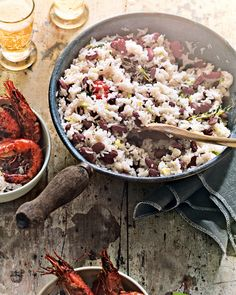 For a side dish with traditional Jamaican flavours, try Ghillie James' easy recipe for fiery rice and peas.