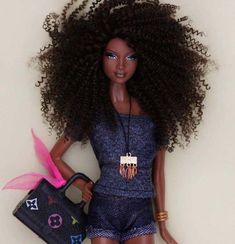 The real barbie Barbie Life, Barbie World, Barbie And Ken, Barbie House, African Dolls, African American Dolls, Afro, Beautiful Barbie Dolls, Pretty Dolls