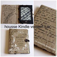 Chose promise, chose due ! Vous l'avez attendu très longtemps, il est enfin là: le tuto de la housse pour Kindle. J'ai choisi de...
