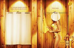 The Skol Beer shower curtain. | 13 Of The Most Sexist Beer Ads Of AllTime