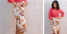 Must Have Floral Pencil Skirt