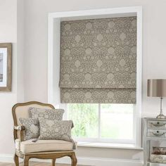 Matching cushions to a roman blind really draws it into the room