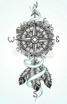 #Compass #Tattoo #CompassTattoo