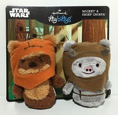 Hallmark itty bittys Ewok Buddies Set! Star Wars