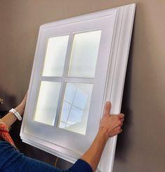 The Original Faux LED Window Light - Basement Bedrooms Fake Window Light, Faux Window, Window Lights, Basement Office, Basement Bedrooms, Basement Apartment Decor, Basement Windows, Drop Ceiling Basement, Basement Renovations