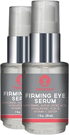 Eye Firming Serum Alpha Lipoic DMAE Vitamin C Esters 2 Pump Bottles x 1 oz -- To view further for this item, visit the image link. (This is an affiliate link) Facial Aesthetics, Firming Eye Cream, Alpha Lipoic Acid, Broken Words, Word Wrap, Eye Serum, Hyaluronic Acid, Easy To Use, Vitamin C