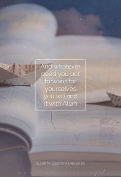 ..And whatever good you send forth for your souls, you shall find it in Allah's Presence, - yes, better and greater, in Reward. And you seek the forgiveness of Allah: for Allah is Oft-Forgiving, Most Merciful. [Quran 73:20] www.lionofAllah.com