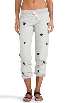 "291 ""Allover Stars"" Baggy Pant in Heather Grey from REVOLVEclothing"