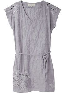 Vanessa Bruno Athé / Embroidered V-Neck Dress  Love this for spring.