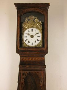 French Country Grandfather Clock or Comtoise