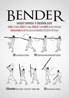 Bender Workout... Hmmmmm, why does this resonate with me