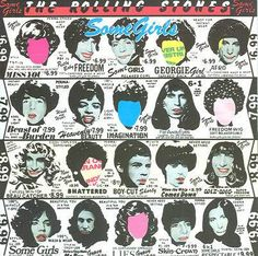 The Rolling Stones - Some Girls (1978) CD Front cover