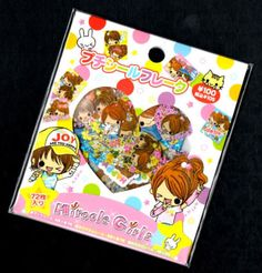 Rare-Kamio-Japan-Miracle-Girls-Kawaii-Stickers-Sack-sticker-flakes