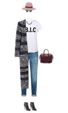 """""""hbic"""" by zimmerglimmer ❤ liked on Polyvore featuring moda, rag & bone, Lola, Boohoo, Chloé, Givenchy, Ray-Ban y Iosselliani"""