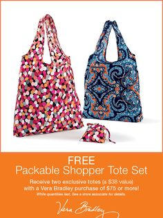 April 22, 2015 #VeraBradley #promotion #EarthDay #shopping #tote