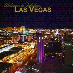 view from Palms Place condos, Las Vegas, NV