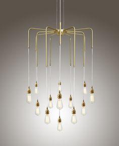 Sela takkrona från Mullan Lighting hos ConfidentLiving.se