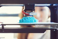 Stock Photo : 3D printout