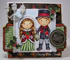 The Paper Nest: Christmas Carollers @thepapernest