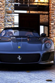 #Ferrari 599 GTO - T top gear hot cars