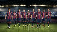 Gwiazdy Klubu FC Barcelona.