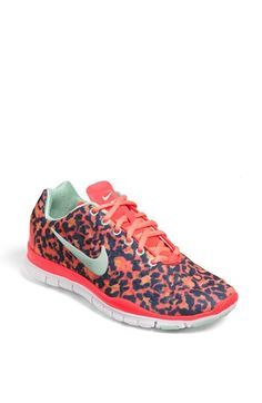 Nike 'Free TR Fit 3 Print' Training Shoe (Women) available at #Nordstrom